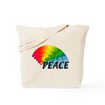 Rainbow Peace Tote Bag