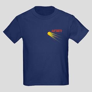 Sputnik: First! Kids Dark T-Shirt