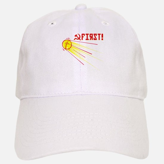 Sputnik: First! Baseball Baseball Cap