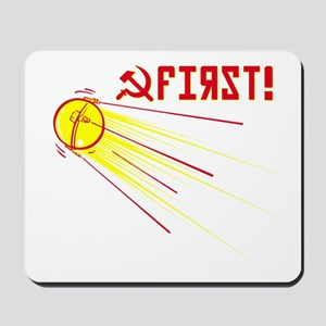 Sputnik: First! Mousepad