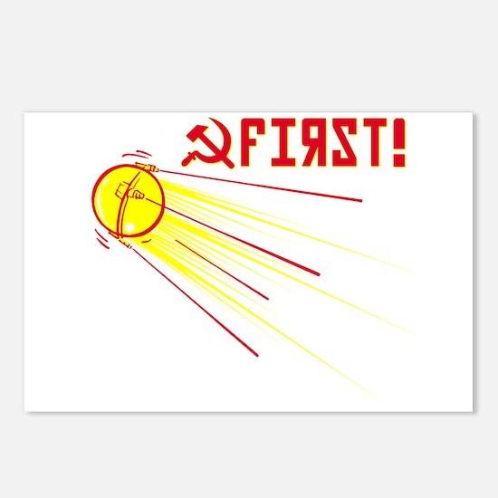 Sputnik: First! Postcards (Package of 8)