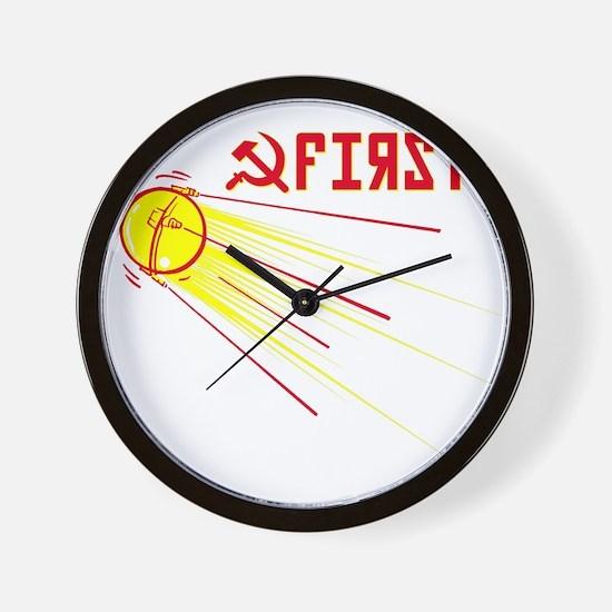 Sputnik: First! Wall Clock