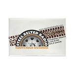 Steel Belted Radio Rectangle Magnet (100 pack)