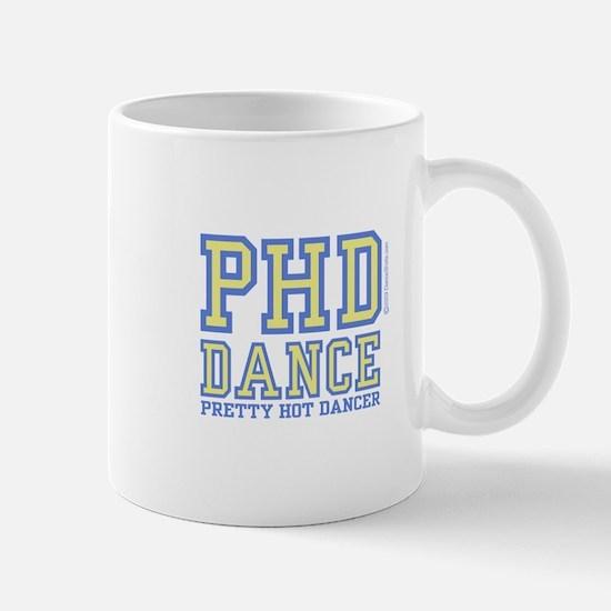 PHD Dance Blue Mug