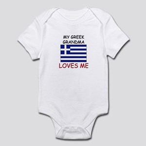 My Greek Grandma Loves Me Infant Bodysuit