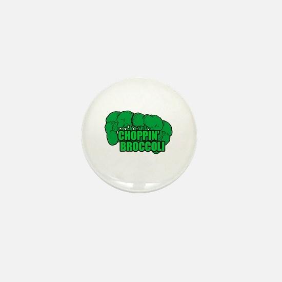 Choppin' Broccoli Mini Button