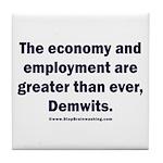 MAGA economy, Demwits Tile Coaster