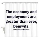 MAGA economy, Demwits Shower Curtain