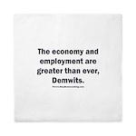 MAGA economy, Demwits Queen Duvet