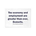 MAGA economy, Demwits 5'x7'Area Rug