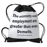 MAGA economy, Demwits Drawstring Bag
