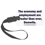 MAGA economy, Demwits Large Luggage Tag