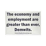MAGA economy, Demwits Rectangle Magnet