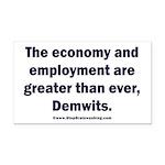MAGA economy, Demwits Rectangle Car Magnet
