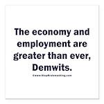 MAGA economy, Demwits Square Car Magnet 3