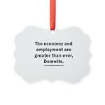 MAGA economy, Demwits Picture Ornament