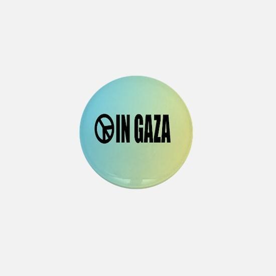 Peace in Gaza Mini Button