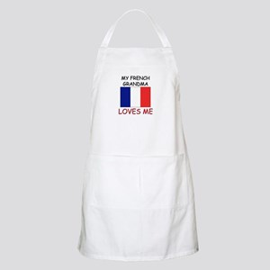 My French Grandma Loves Me BBQ Apron
