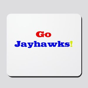 Go Jayhawks! Mousepad