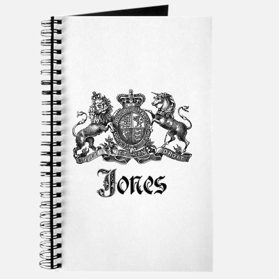 Jones Vintage Crest Family Name Journal