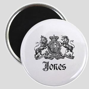 Jones Vintage Crest Family Name Magnet