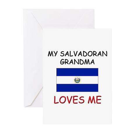 My Salvadoran Grandma Loves Me Greeting Cards (Pk