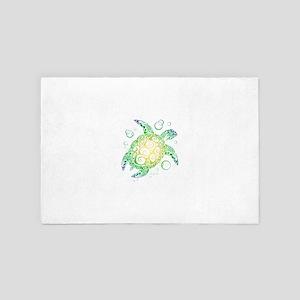 Sea Turtle 4' x 6' Rug