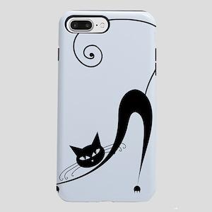 Black Cat iPhone 8/7 Plus Tough Case