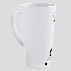 Black Cat 17 oz Latte Mug
