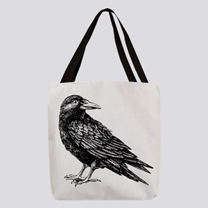 Raven Polyester Tote Bag
