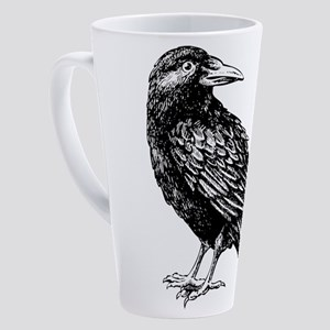 Raven 17 oz Latte Mug