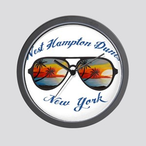 New York - West Hampton Dunes Wall Clock