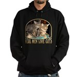 Real Men Love Cats Hoodie (dark)