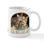 Real Men Love Cats Mug