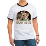 Real Men Love Cats Ringer T