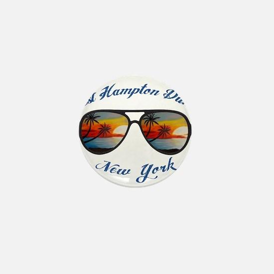 New York - West Hampton Dunes Mini Button