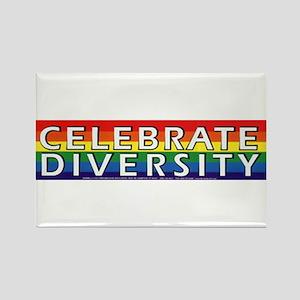 Celebrate Diversity! Rectangle Magnet