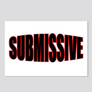 """""""SUBMISSIVE"""" Postcards (Package of 8)"""