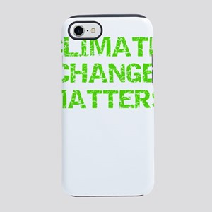 Save the Earth Climate Chang iPhone 8/7 Tough Case
