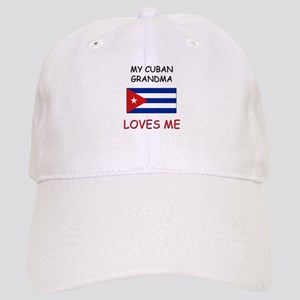My Cuban Grandma Loves Me Cap
