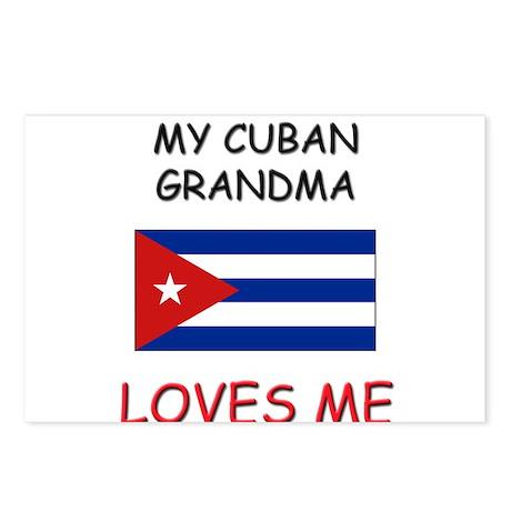 My Cuban Grandma Loves Me Postcards (Package of 8)