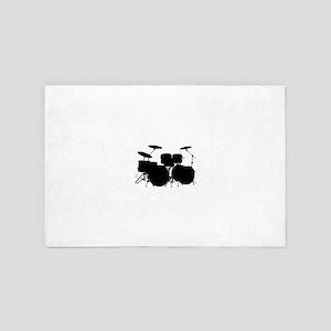Drums 4' x 6' Rug