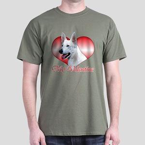 White Shep Valentine Dark T-Shirt