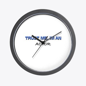 Trust Me I'm an Actor Wall Clock