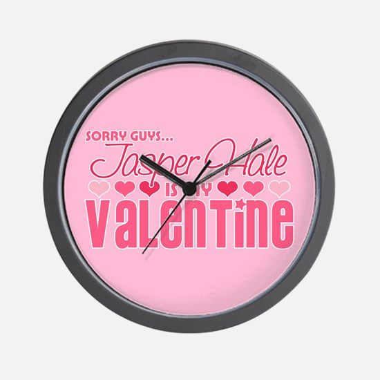 Jasper Twilight Valentine Wall Clock