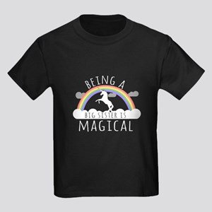 Being A Big Sister Magical T-Shirt
