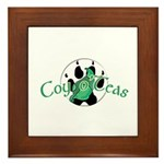 Official Coy o'Teas Framed Tile