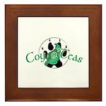 Official Coy o'Teas Framed Tile