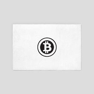 Bitcoin 4' x 6' Rug