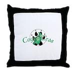Official Coy o'Teas Throw Pillow